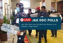 J&K DDC Polls and ULB By-Polls Results Live Updates - Digpu News