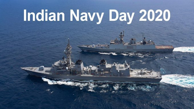 PM Modi, Defence Minister extend greetings on Navy Day-Digpu