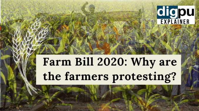 Farm Laws 2020 | Farmers Protest 2020 Explained - Why have Indian farmers occupied the streets - Digpu News
