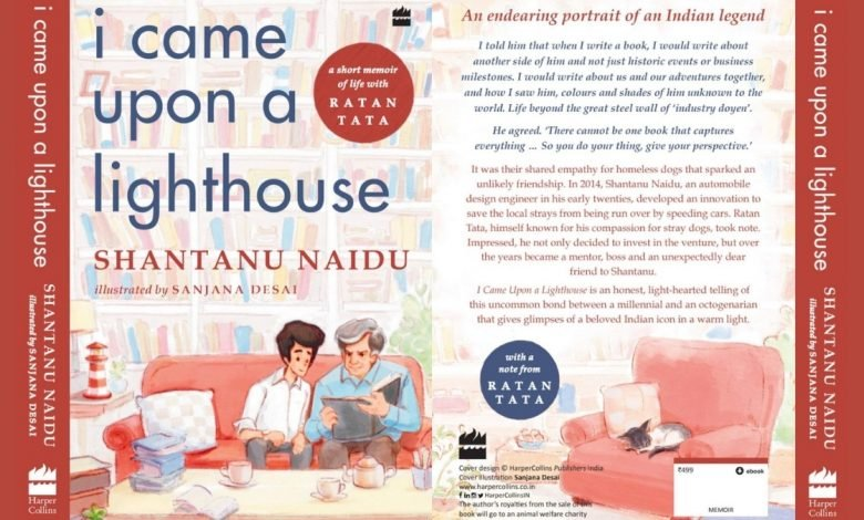 I Came Upon A Lighthouse Shantanu Naidu announces book about his journey with Ratan Tata - Digpu News