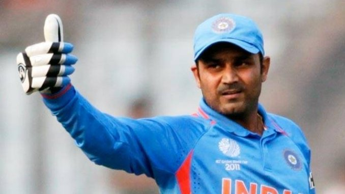 On this day in 2011_ Sehwag became the second player to score a double century in ODIs - Digpu