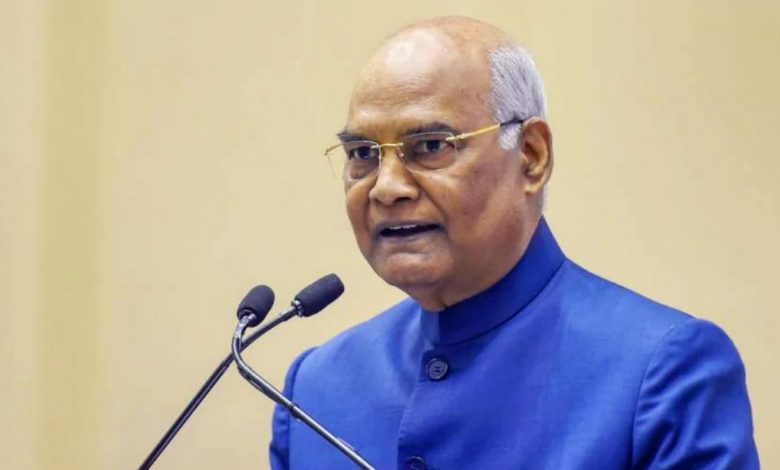 President Ram Nath Kovind arrived in Diu-Digpu