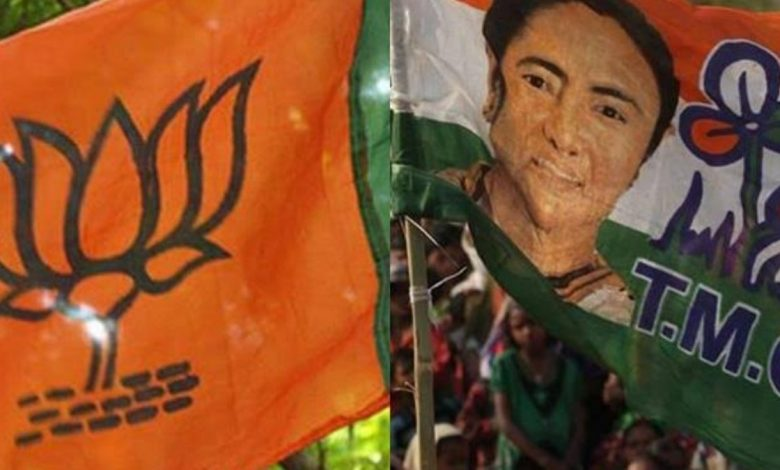 BJP workers attacked by unidentified persons in West Bengal-Digpu