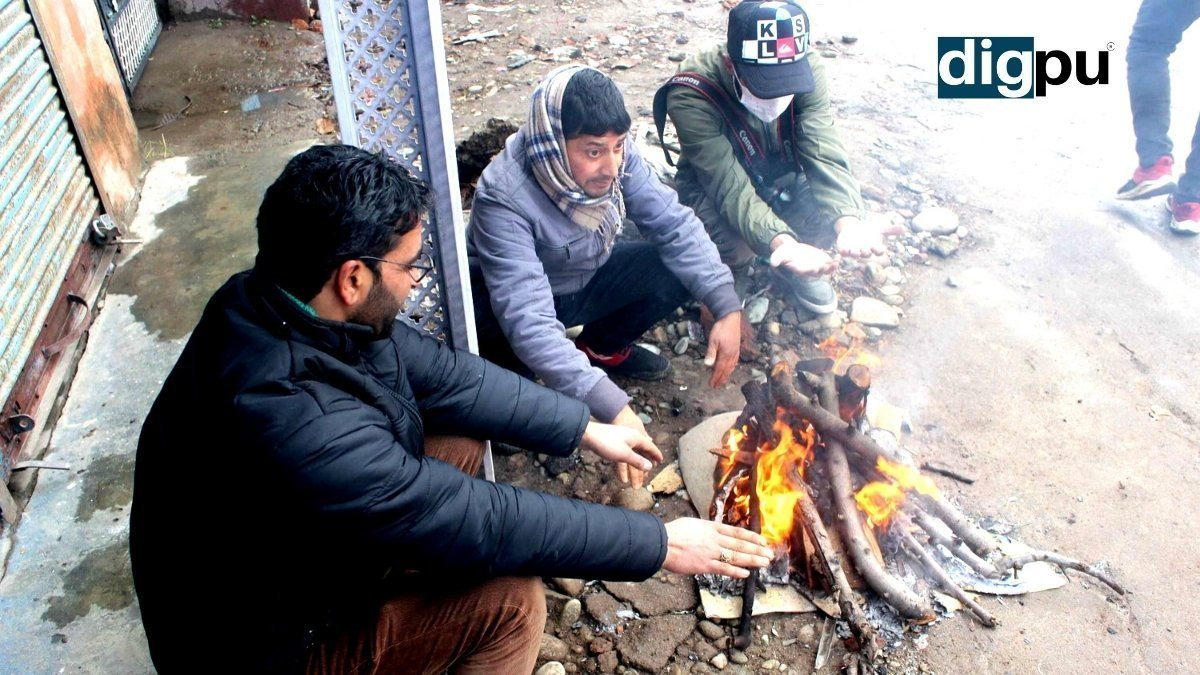Winter In Kashmir Harshest phase of winter Chillai-Kalan - Digpu News