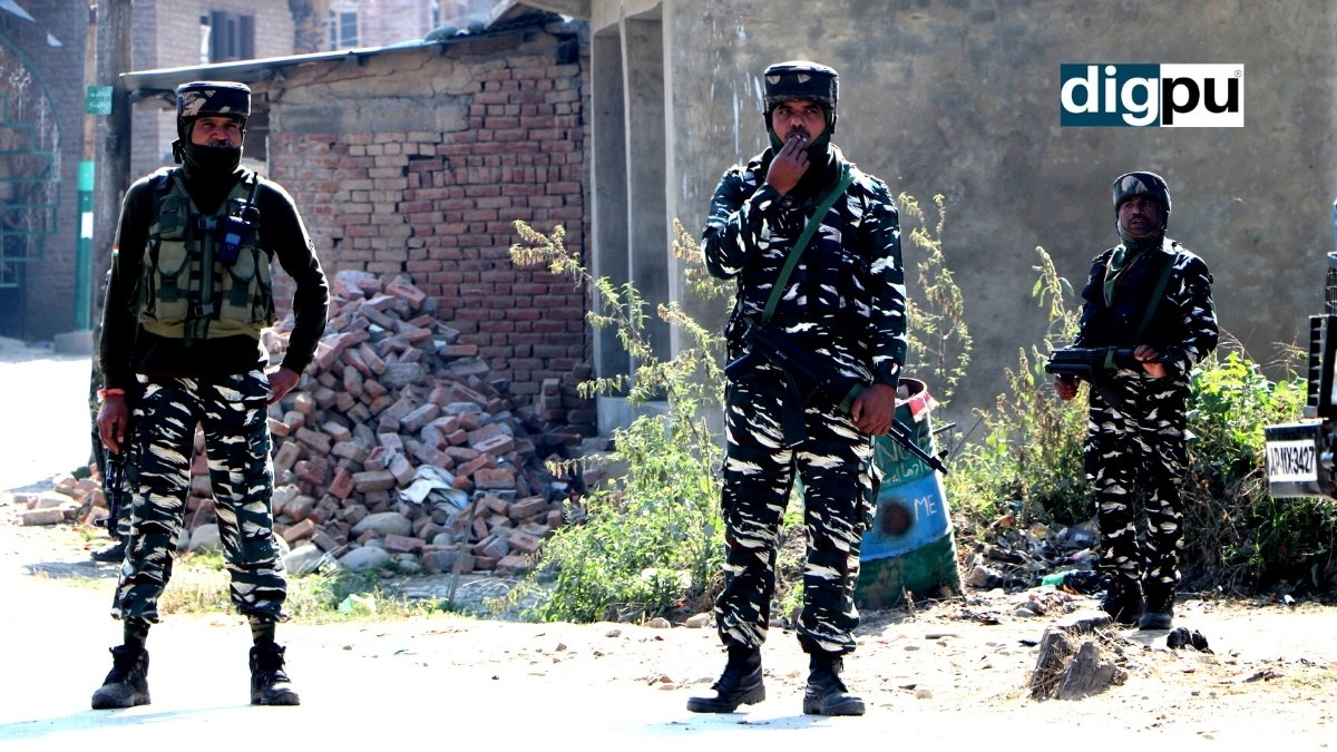 Gunfight breaks out in southern Kashmir's Tral area - Digpu News
