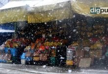 Heavy snowfall in Kashmir prompts authorities to sound high alert - Digpu News