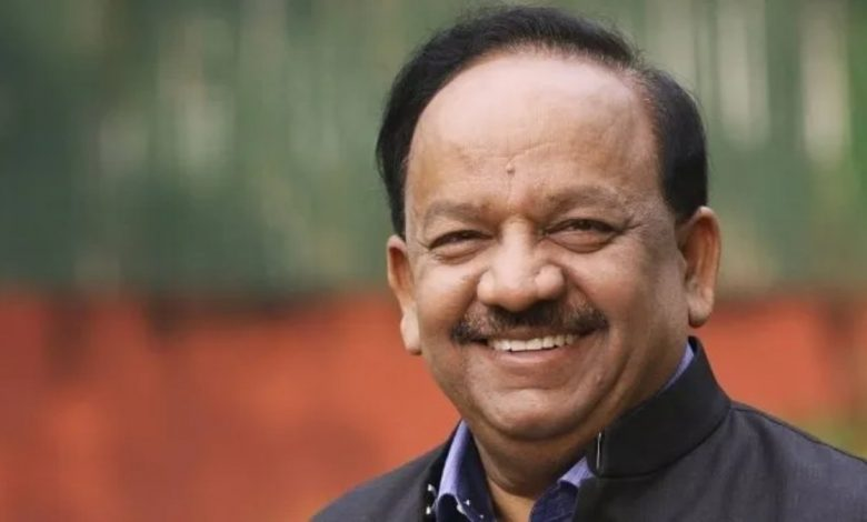 Harsh Vardhan visits Delhi's GTB hospital -Digpu