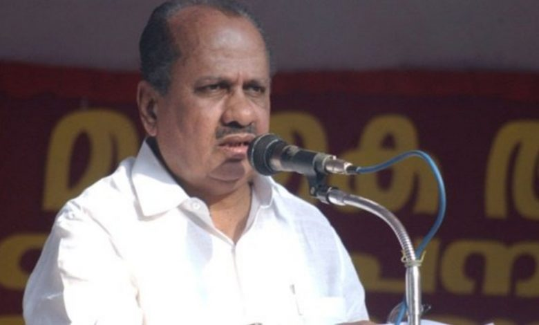 Congress leader KK Ramachandran passes away-Digpu