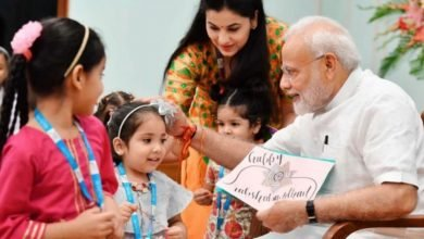 PM Narendra Modi lauds people for empowering girl child on National Girl Child Day Digpu