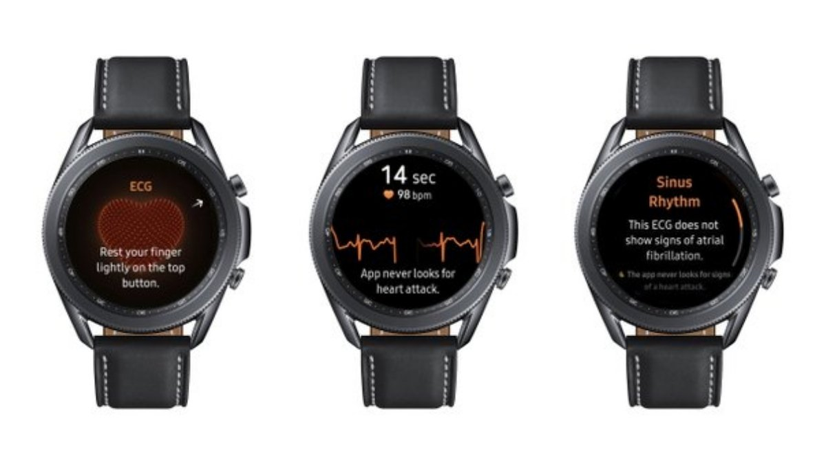Samsung is launching Watch 3's with EKG feature