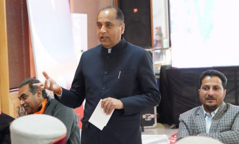 CM Jai Ram Thakur: Opposition in Himachal is directionless, leaderless - Digpu