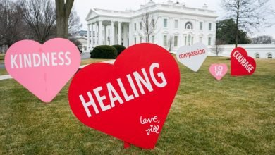 First lady Jill Biden gives message of strength and hope this Valentines Day - Digpu News