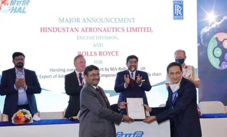 HAL and Rolls-Royce expand partnership with MRO and supply chain MoUs - Digpu