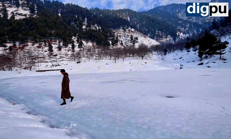Panner Dam Frozen but mesmerizing dam in South Kashmir - Digpu News