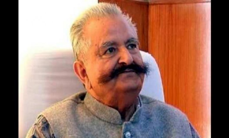 Former Himachal Pradesh Minister Sujan Singh Pathania passes away