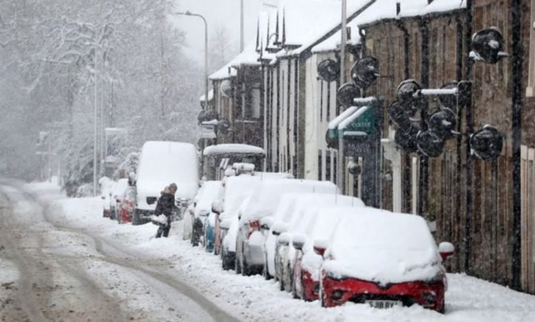 UK records coldest February night since 1955