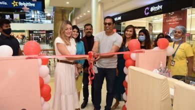Marie Claire Paris Just Nails Launches its first Studio Kiosk in Viviana mall Mumbai