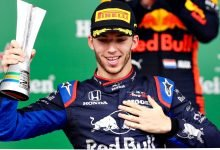 Formula 1 driver Pierre Gasly tests positive for Covid-19- Digpu