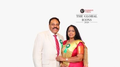 """Passion Vista Bestowed Mr & Mrs. Gopinathan Nair with """"The Global Icon 2020"""""""