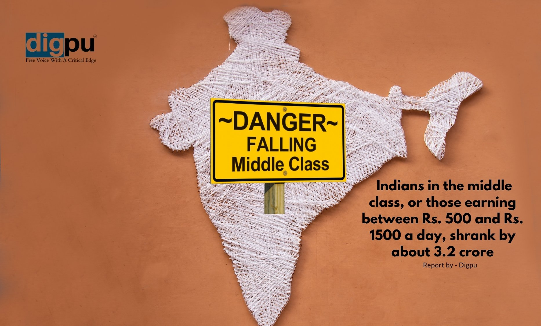 3.2 Crore Indian middle class people pushed down to poor category in 2021