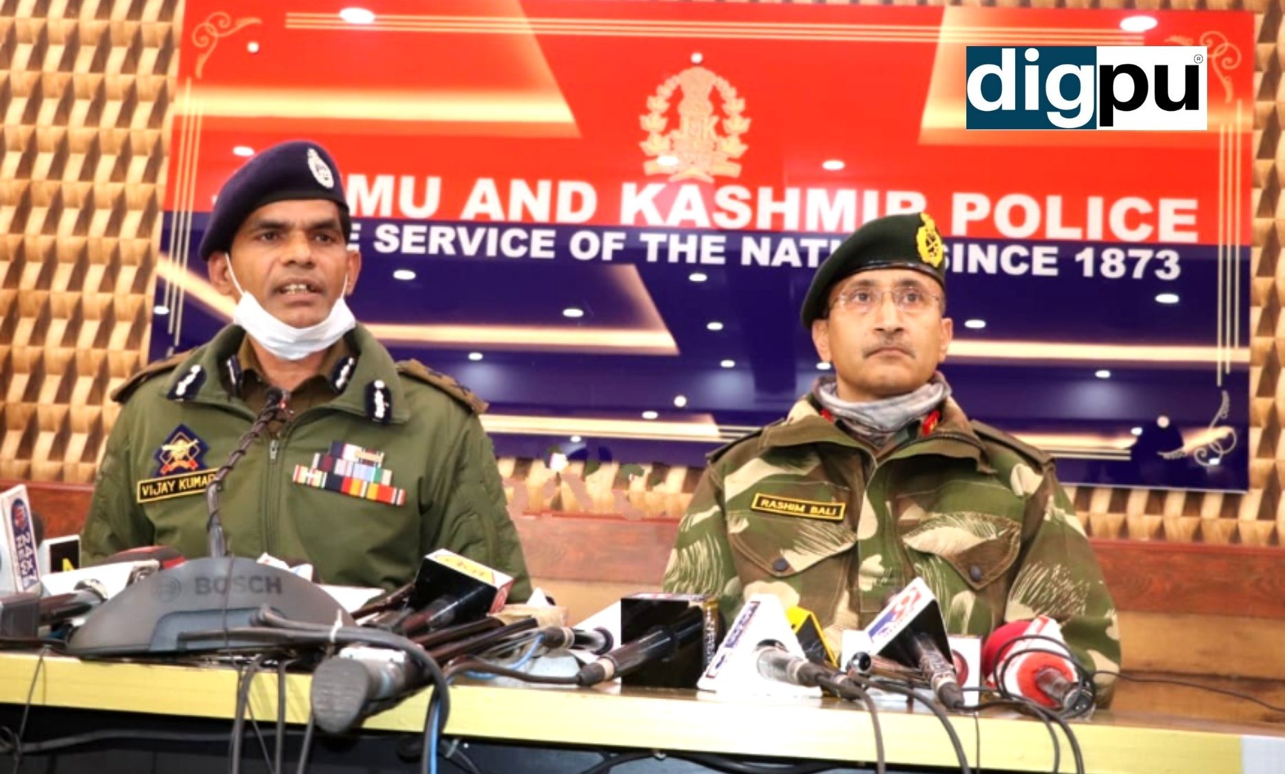 Despite repeated surrender appeals, militants opened fire in Shopian, says IGP Kashmir - Digpu News