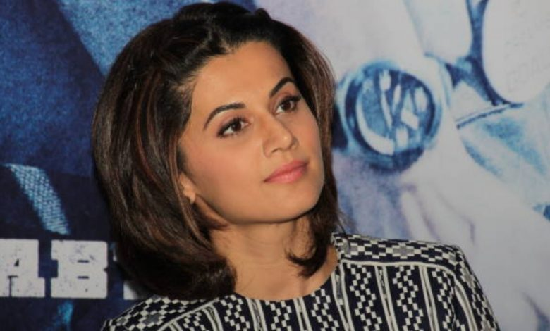 Taapsee Pannu breaks silence on IT Raids conducted at her property
