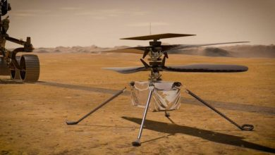 NASA Ingenuity Mars Helicopter prepares for the first flight