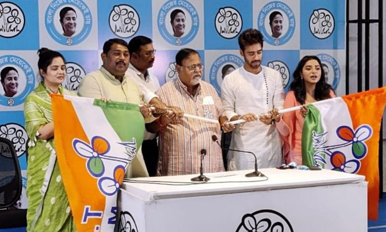 3 Bengali actors join TMC ahead of Assembly polls