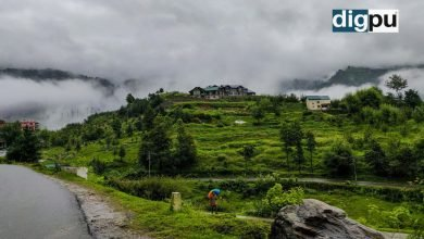 Weather In Kashmir - Heavy rains expected in the valley, and roads being inundated - Digpu news
