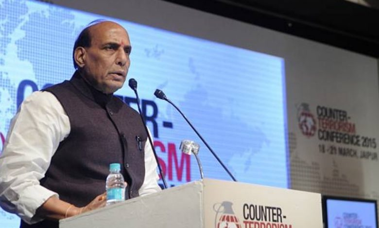 Rajnath Singh sure about forming a government in upcoming polls in West Bengal