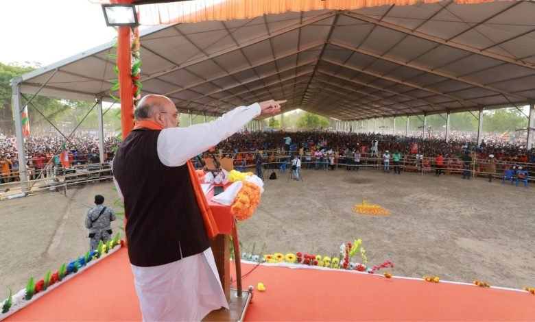 Will change Bengal model of 'Bum, Bandook aur Barood' to 'Vishwas, Vikaas aur Vyapaar', says Amit Shah in public meeting - Digpu News