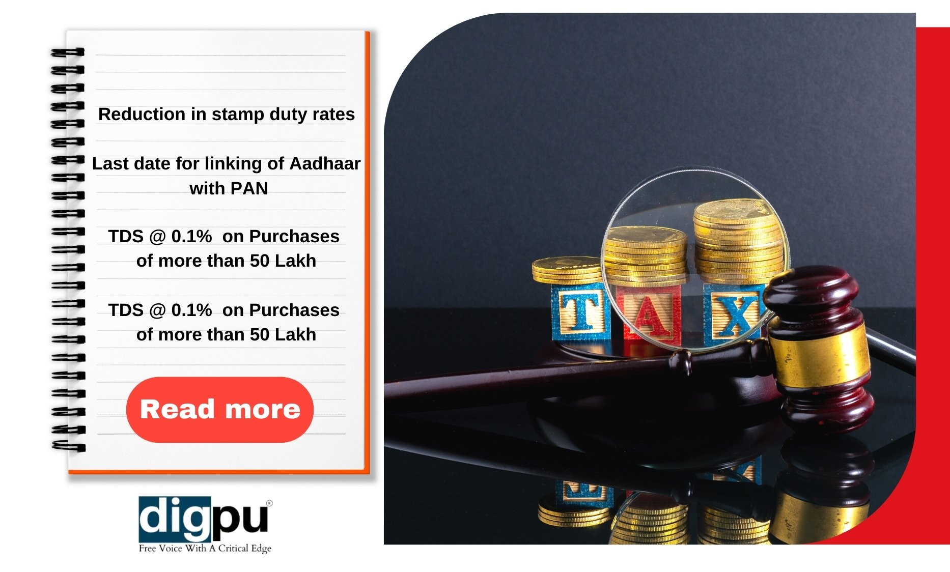 New Amendments in Income Tax, GST, Company Laws from 1st April, 2021