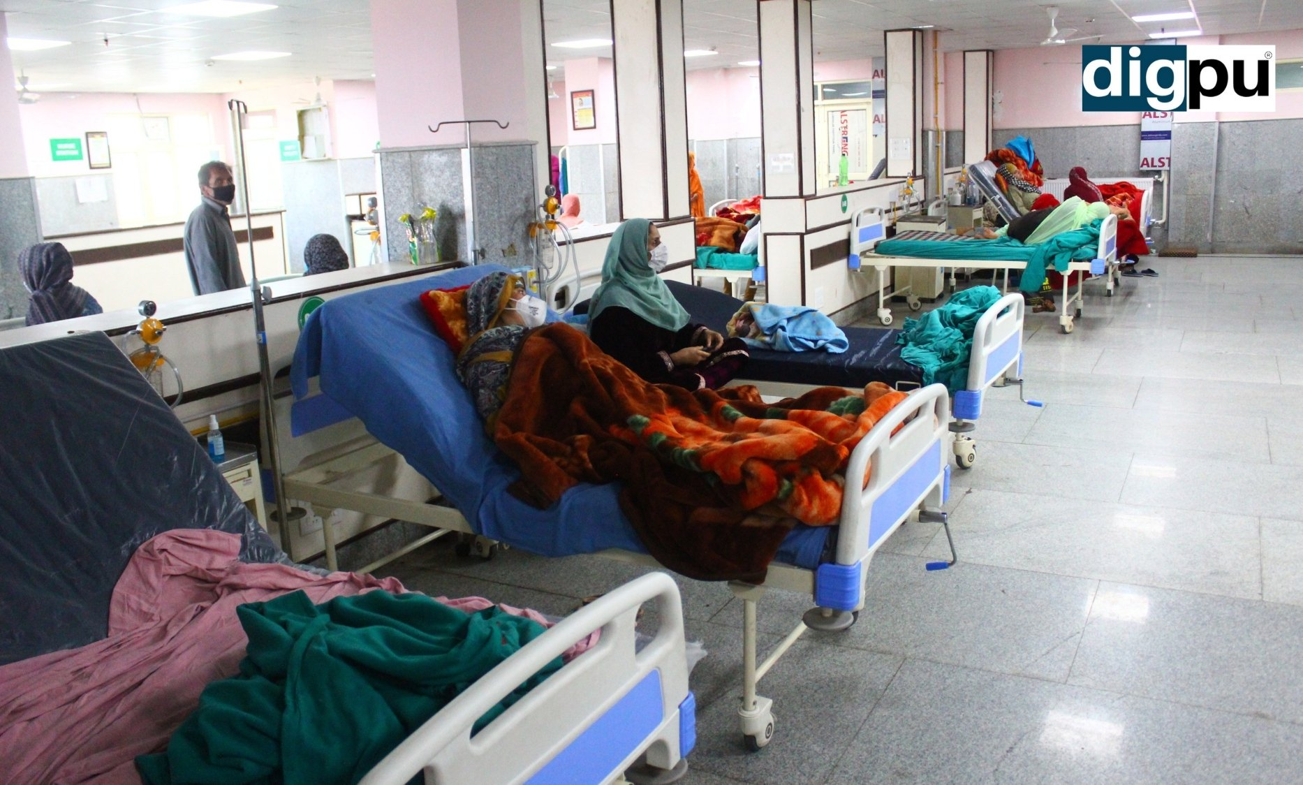 Exclusive: Only critical COVID-19 patients admitted; Five docs test positive in DH Pulwama - COVID-19 News - Digpu Kashmir News