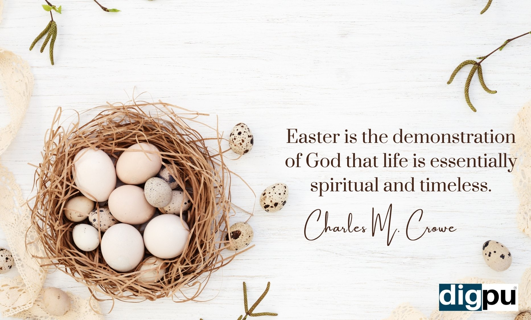 Happy Easter 2021 History, Significance and Greetings - Digpu News
