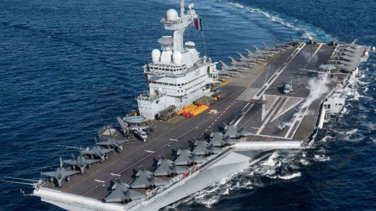 'Varuna-2021' naval exercise between India, France concludes
