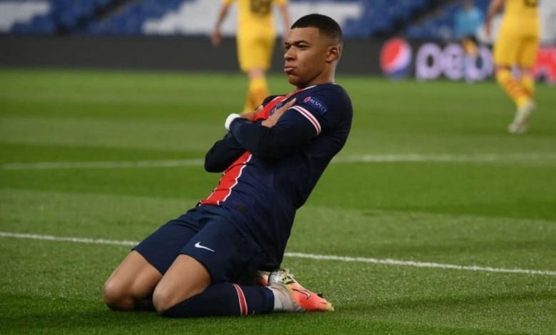Mbappe, who has scored 42 goals in all competitions for PSG this season, has a contract at the French club until the end of June 2022