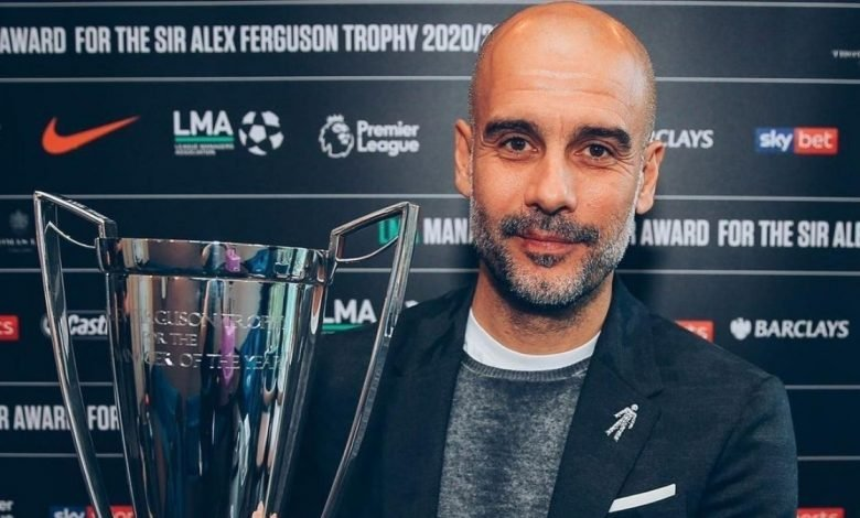 Pep Guardiola wins PL Manager of the Year award for third time (2)