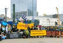 Protest held in Berlin to mark the second anniversary of Hong Kong uprising (1)