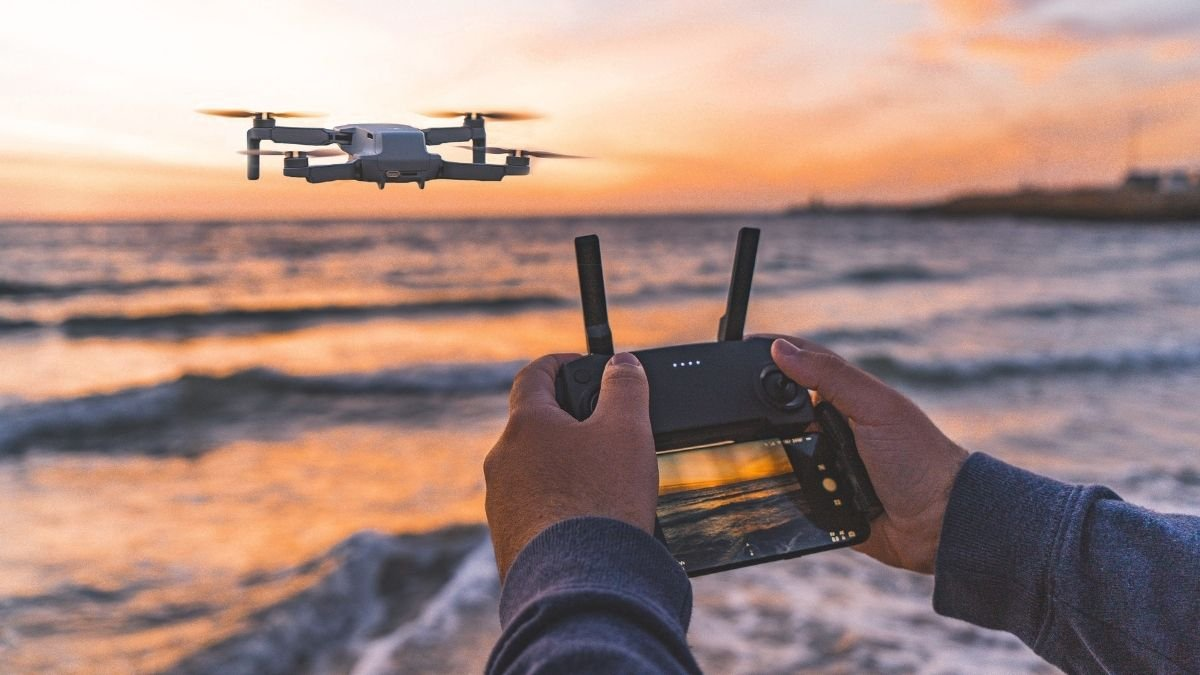 Study says Drone can improve odor management in water treatment plants 1