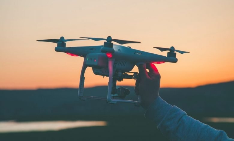 Study says Drone can improve odor management in water treatment plants