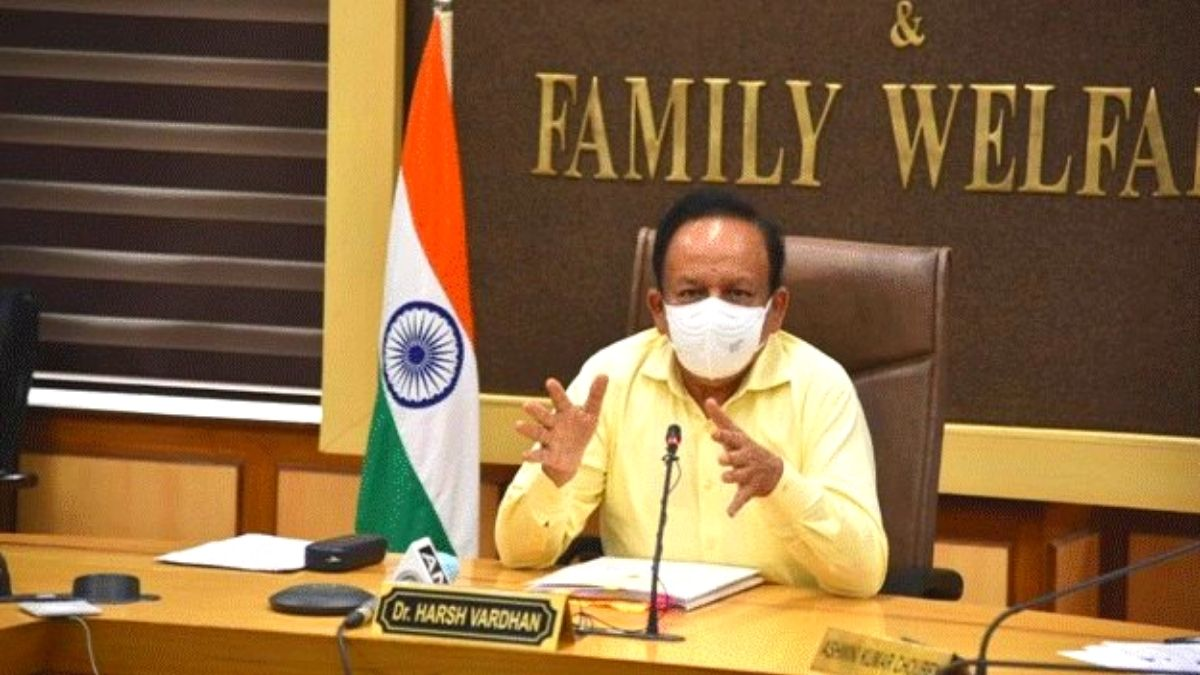 Dr. Harsh Vardhan says 12 crore doses will be available in July