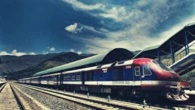 Kashmir valley Train services resumed partially