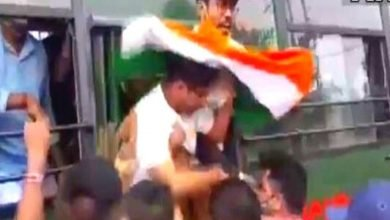 BJP workers detained for not obtaining permission for Yuva Sankalp Yatra in Bengal