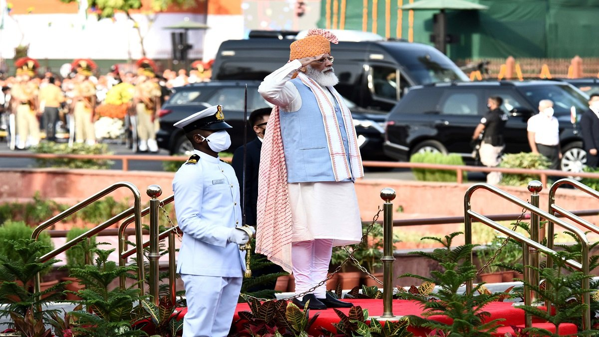 Independence Day 2021: PM Modi