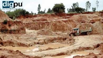 Illegal sand mining in Jabalpur wreaking destruction on the banks of the Narmada with Tacit Government support - Digpu News