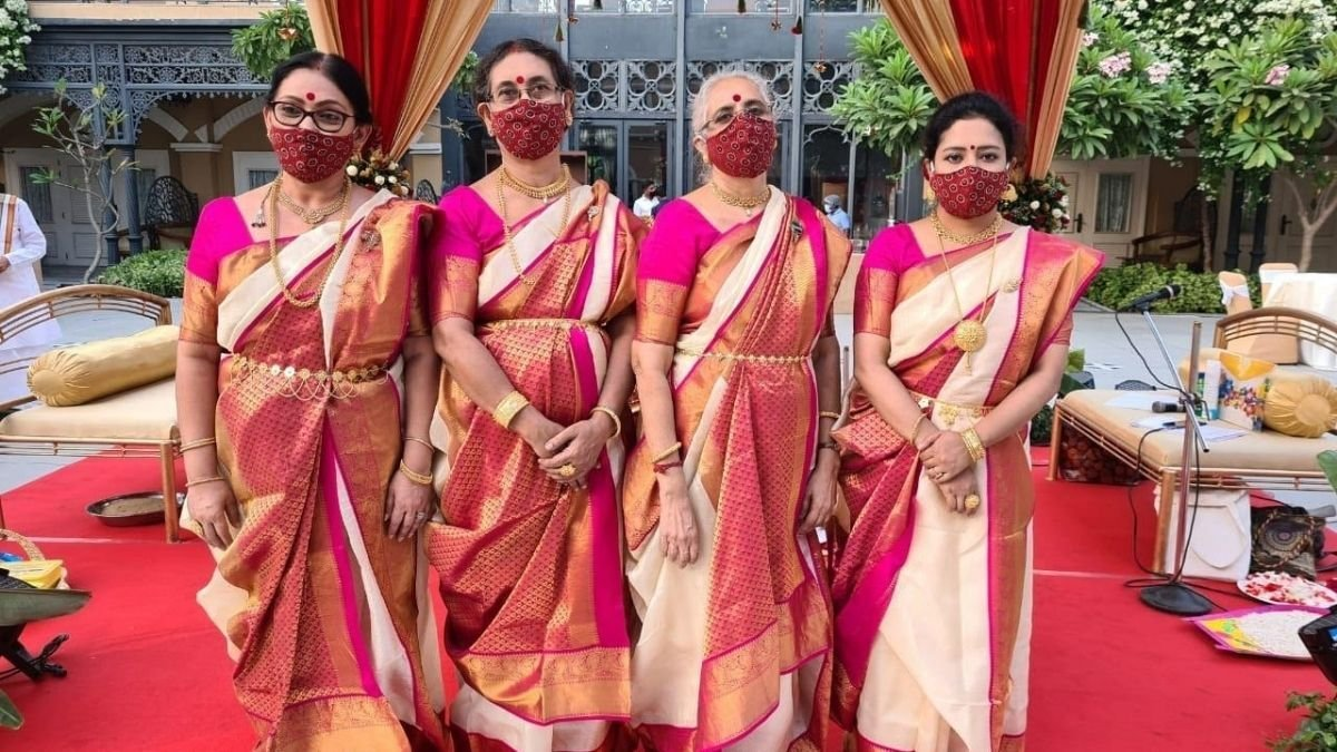 Female priestess who will perform Durga Puja this year