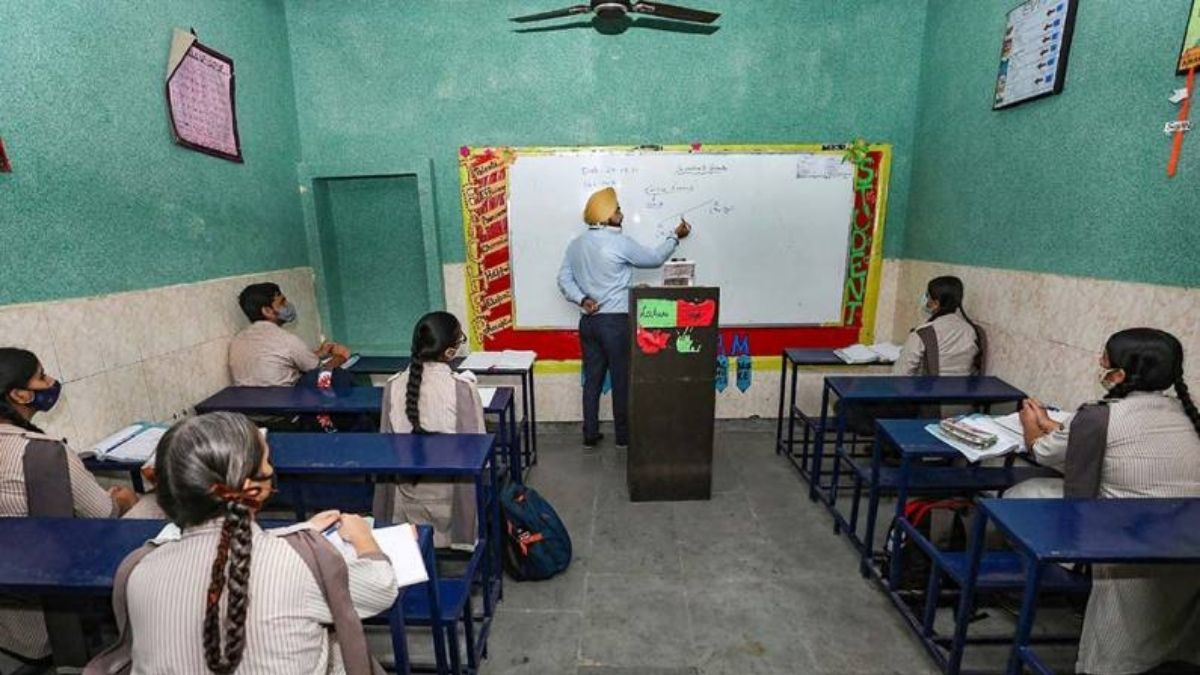 Amid thin attendance, Jammu schools reopen for classes 10th, 12th