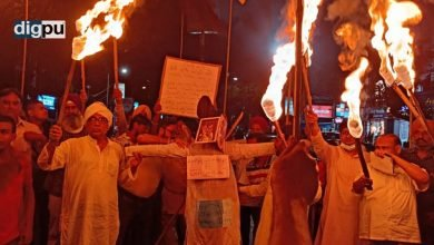 Bengal stands with the Farmers, Nousheen says from the solidarity farmer protest in Kolkata - Digpu News