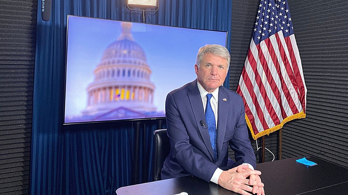 Congressman Michael McCaul speaking about journalists in Afghanistan
