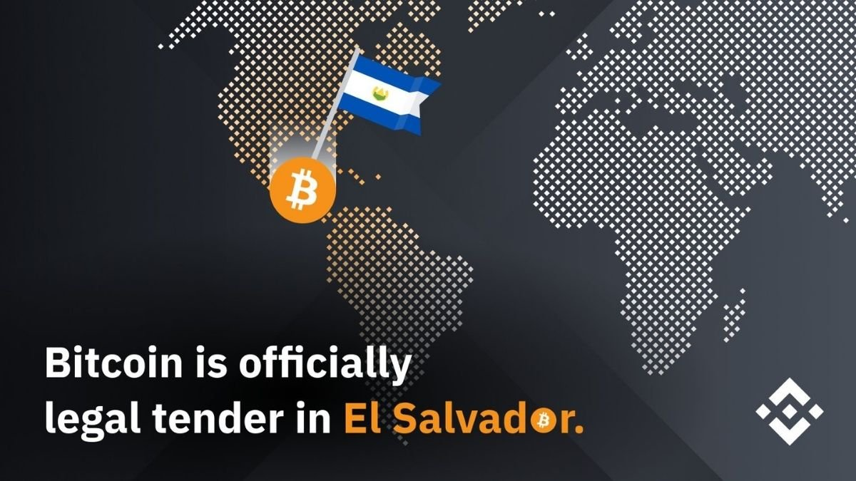 El Salvador is the first country to recognize Bitcoin as a legal tender